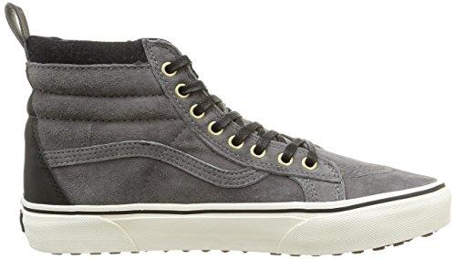 Vans Sk8-hi Mte, Unisex-Erwachsene Hohe Sneakers Grau (mte/pewter/wool)