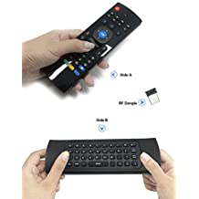 Air Mouse,Telecomando per Smart TV BOX Multifunzione MX3 2.4G Wireless