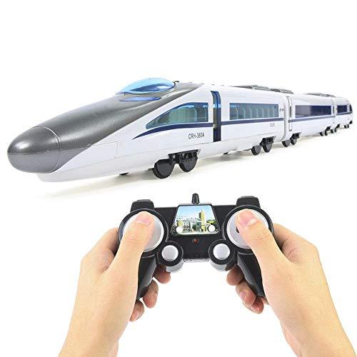 Dilwe Modello Treno ad Alta velocità, E636 1/20 2.4G di plastica Modello di Treno ad Alta velocità Regalo Giocattolo Regalo per Bambini 6+