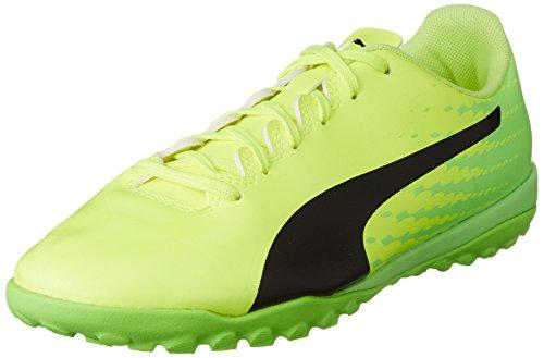 Puma Evospeed 17.4 Tt, Scarpe da Calcio Uomo Giallo (Safety Yellow-puma Black-green Gecko 01)