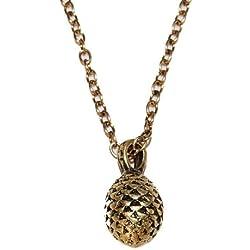 Diseño de huevo de dragón colgante collar en dorado antiguo (en Organza Bolsa de regalo)
