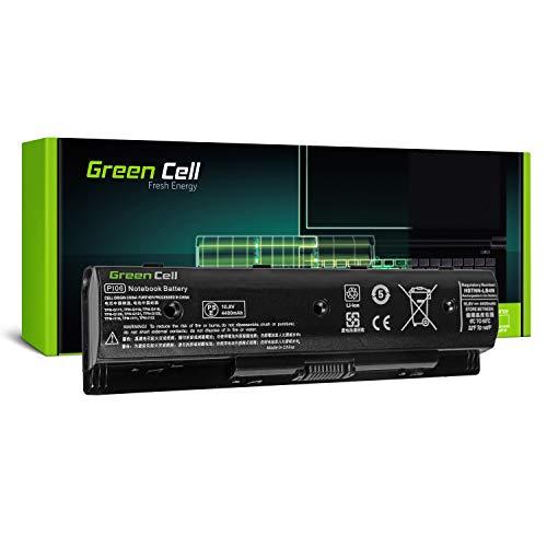 Green Cell Standard Serie PI06 PI06XL PI09 HSTNN-UB4N HSTNN-YB4N 710416-001 710417-001 Laptop Akku für HP Pavilion 15 15-E 17 17-E HP Envy 15 15-J 17 17-J (6 Zellen 4400mAh 10.8V Schwarz)