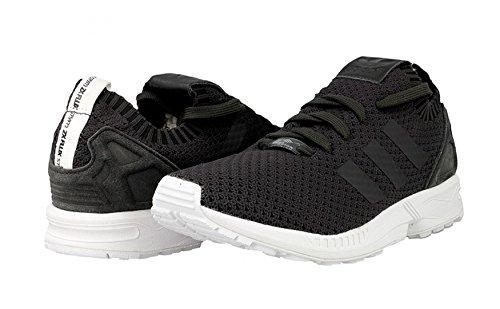 adidas ZX Flux PK Primeknit Solid Grey Black dgh solid grey-dgh solid grey-core black (S75972)