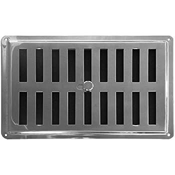 SO-TECH/® Grille de Ventilation Perfor/ée T/ôle de Ventilation Angulaire Aluminium EV1-900 mm