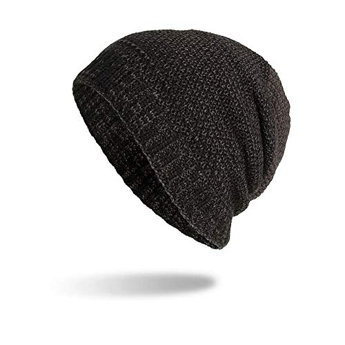 Winter Frauen Männer warme Baggy Weave Häkeln Wolle Stricken Ski Beanie Caps Hut