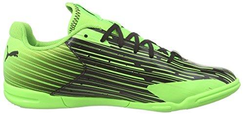 Puma Meteor Sala Lt, Chaussures de Futsal femme Noir - Schwarz (black-green gecko 06)