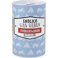 Blech Spardose mit Spruch 6x10,2 cm (Führerschein) preisvergleich bei kinderzimmerdekopreise.eu