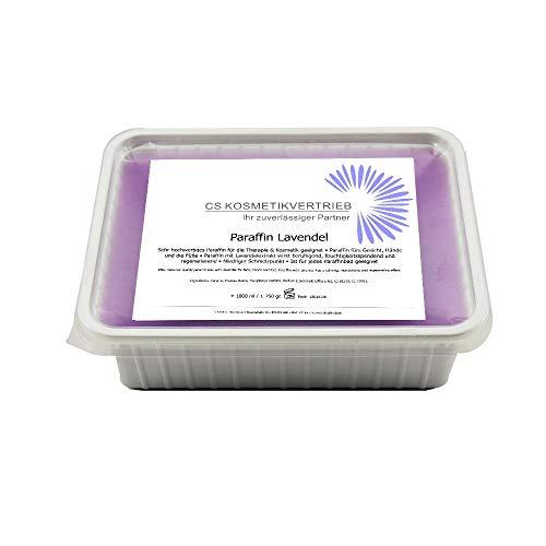 Paraffinwachs für das Paraffinbad Lavendel im 1x1000ml 750g zum nachfüllen