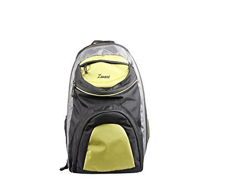 Zwart 25Ltrs Black And Green Free Size Laptop Backpack