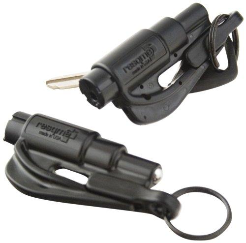 resqme 04.100.01 keychain car escape tool (set of 2, black) Resqme 04.100.01 Keychain Car Escape Tool (Set of 2, Black) 414yL 2BBuwPL
