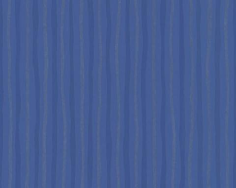 Schöner Wohnen 268532 Vliestapete Green Experience, Streifentapete, blau