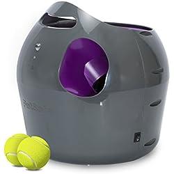 PetSafe PTY19-15850 - Lanzador automático de pelotas, color gris