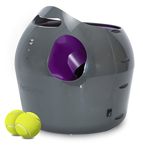 PetSafe Automatic Ball Launcher Dog Toy, Interactive Tennis Ball Throwing Machine for Dogs, Water Resistant 1