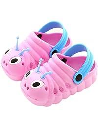 Unisex Sandalias Niños Verano Chanclas Zuecos Niños Antideslizante Respirable Piscina Jardín Zapatos Playa Niños