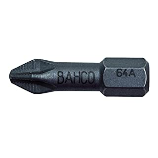 Bahco 64A/PH2-2P Ph2 ACR Bit for Phillips Head Screws, Multi-Colour, 25 mm