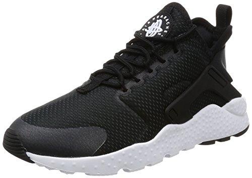 Nike Damen Air Huarache Run Ultra Laufschuhe, Schwarz (Black / Black / Black / White), 40 EU