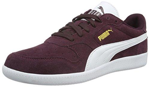 Puma Unisex-Erwachsene Icra Trainer Sd Low-Top Rot (Winetasting-puma White 21)
