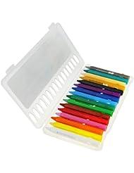 GUFAN 16 PCS Crayons de Couleur de Maquillage de Visage Peinture Corporelle pour Halloween Carnaval