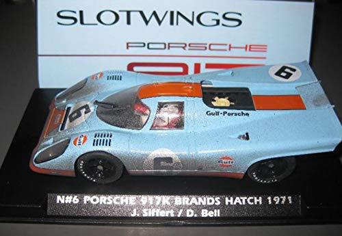 Fly SCALEXTRIC Porsche 917K Gulf Nº6 Efecto Sucio