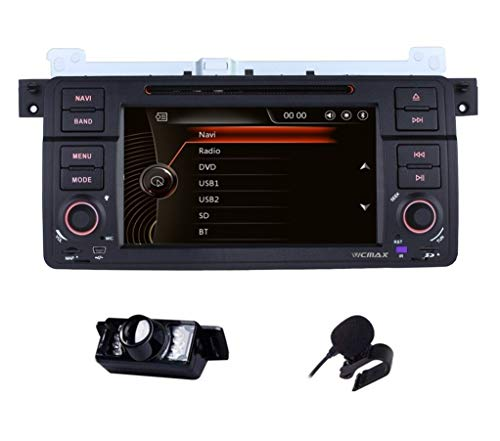 17,8 cm HD digitale touch screen capacitivo Dual Canbus Car stereo navigatore satellitare DAB + Radio RDS Bluetooth CD DVD GPS Screen mirroring mappa per BMW 3 Serias E46 m3 320 325 Rover 75 MG ZT 3G