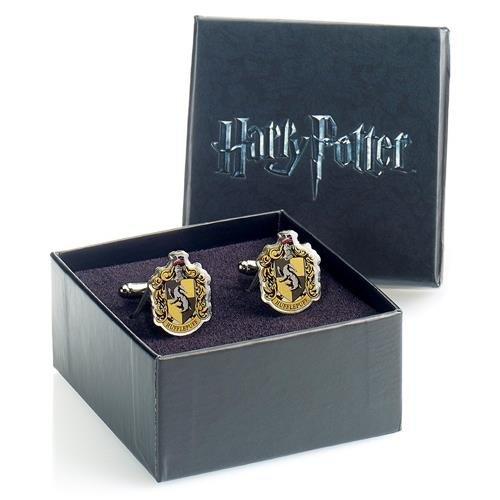 Harry Potter - Hufflepuff Crest Cufflink Set