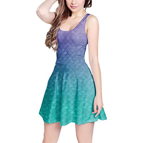 Inspired Sleeveless Dress - S Kleid ()