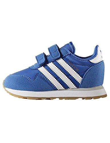 adidas Unisex Baby Haven Cf I Lauflernschuhe Blau (Blau / Ftwbla / Ftwbla)