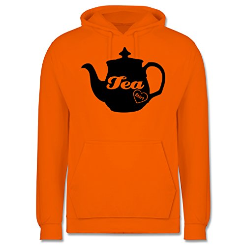 Statement Shirts - Tea-Shirt - Männer Premium Kapuzenpullover / Hoodie Orange