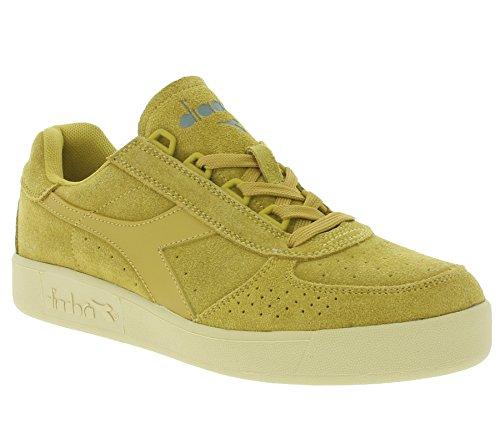 Diadora B.Elite Suede mixte adulte, suède, sneaker low Beige