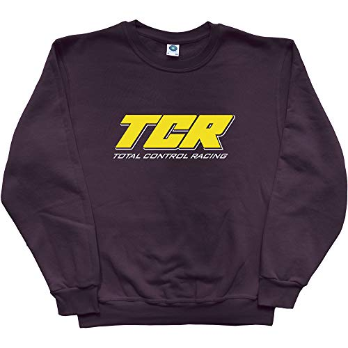 T.C.R. - Total Control Racing Sweatshirt Gr. XL, Black (White Print) (Total Control Racing)