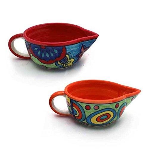 gall-zick-de-sauces-bols-assortis-de-2-ceramique-multicolore