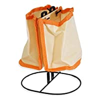 ToolUSA Orange Compact Desk Organizer On Wire Stand: AP4-773-YGB