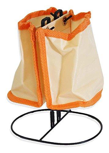 ToolUSA arancione Compact Desk Organizer on Wire Stand: AP4-773Flash YGB