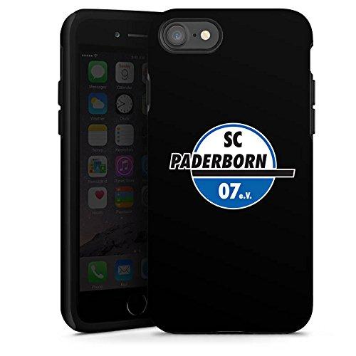 Apple iPhone X Silikon Hülle Case Schutzhülle SC Paderborn Fanartikel SCP07 Tough Case glänzend