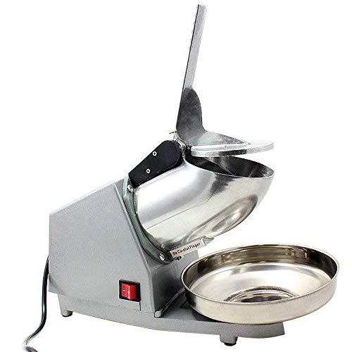 Rong Ice Crusher - Haushalt/Gewerbliche Arbeitsplatte Ice Crusher/Smoothie-Hersteller, Leistungsstarke/Multifunktionale Eismaschine, 220v
