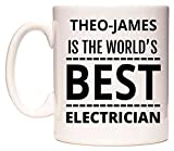 THEO-JAMES Is The World's BEST Electrician Tasse de WeDoMugs