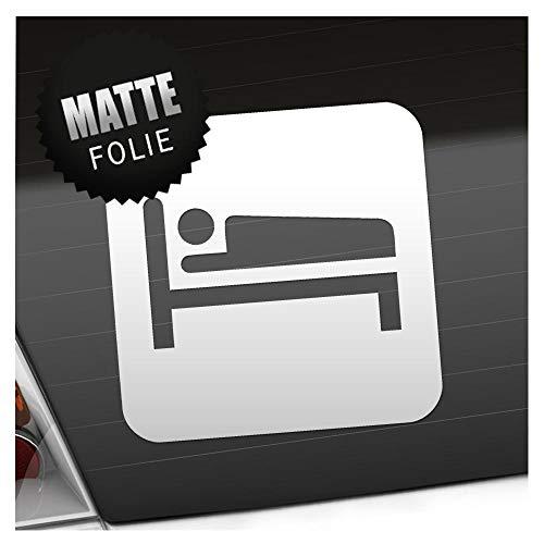Kiwistar Unterkunft Übernachtung Piktogramme Aufkleber Sticker 25 Farben Neon Matt