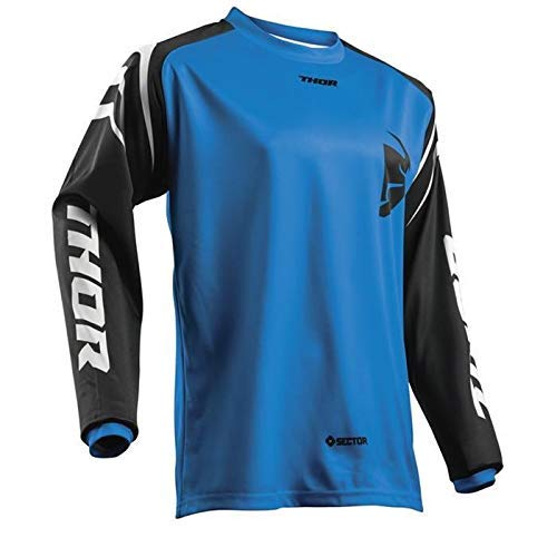 Thor SECTOR YOUTH Motocross Kinder Jersey 2018 - blau -
