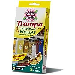 Splash Trampa Polillas Alimentos - 3 Paquetes de 3 Unidades