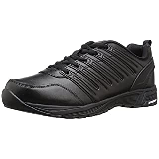 Dickies Men's Apex Health Care and Food Service Shoe, Black, 8.5 W US