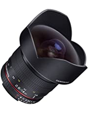 Samyang SY14MAE-N 14mm F/2.8 Ultra Wide Angle Prime Lens for Nikon AE (Black)