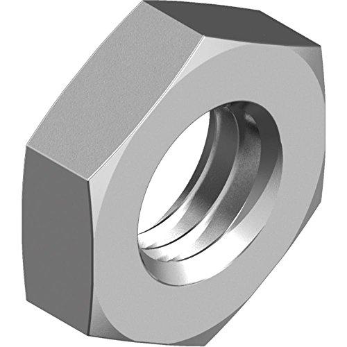 25 St/ück - SC439 SC-Normteile V2A Sechskantmuttern rostfreier Edelstahl A2 - M10 - - DIN 439 // ISO 4035 niedrige Form