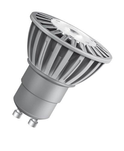 Osram LED Superstar PAR16 5 Watt (ersetzt 50 Watt), Sockel Gu10, extra warmton (850), Reflektorform 50 mm, 230 V, 25° Abstrahlwinkel 973146