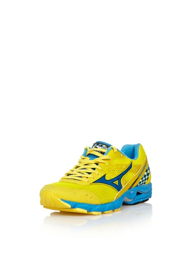 Mizuno Sneakers Running Wave Aero 12 Giallo/Blu EU 46.5 (UK 11.5) Giallo/Blu