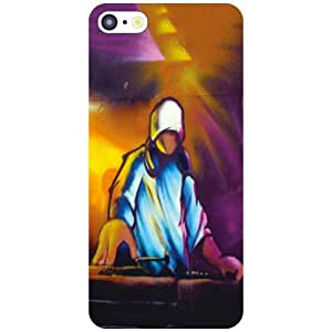 Apple iPhone 5C Back Cover - Play My Music Designer Cases