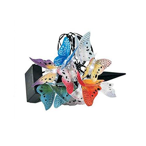 Guirlande lumineuse LED solaire éclairage papillons lampe DEL décoration jardin terrasse