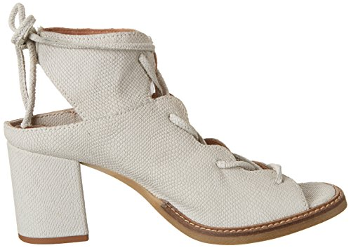 Mjus 848003-0301, Sandales Bout Ouvert Femme Weiß (Bianco)