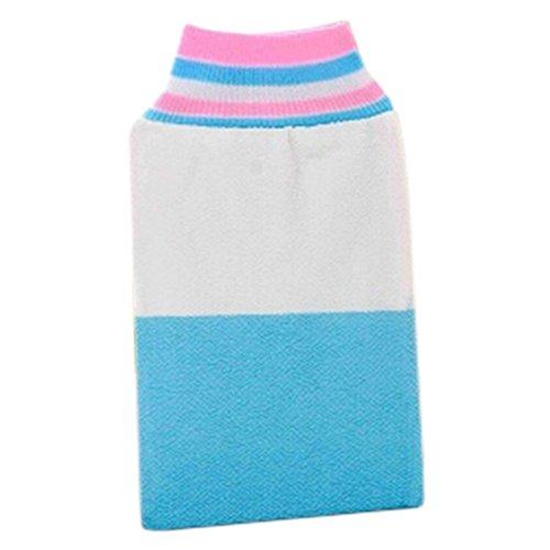 Bath Loofah éponge épurateur éponge forte Gant de toilette de bain serviette J