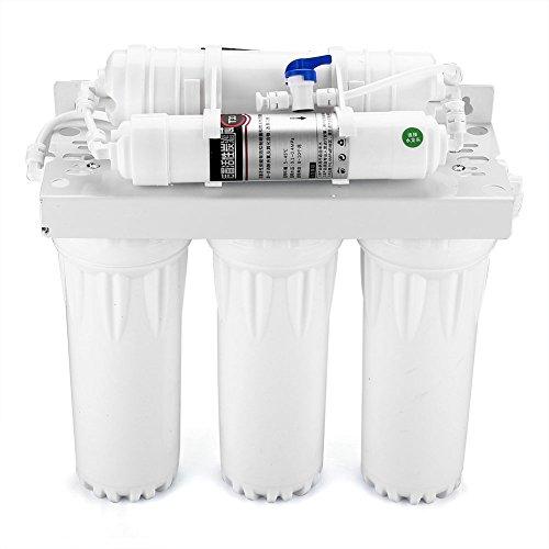Zerone Water Filter, 3 + 2 Bühne Untertisch Wasserfilter System Home Office Trinken Ultra Filtration Reinigung Wasser Filter Filtration System