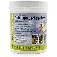 NatuVet Sensitiv 100% naturreines Grünlippmuschel-Pulver 500g (Perna Canaliculus) mit Dosierlöffel